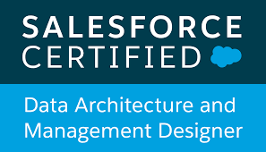 Salesforce certified,Data Architecture and Management Designer