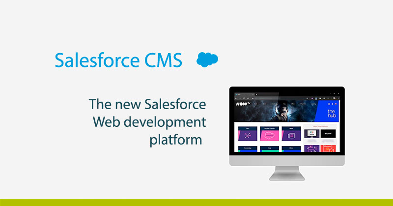 Feature image new and Salesforce web development platform