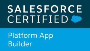 Salesforce certified, Platform App Builder