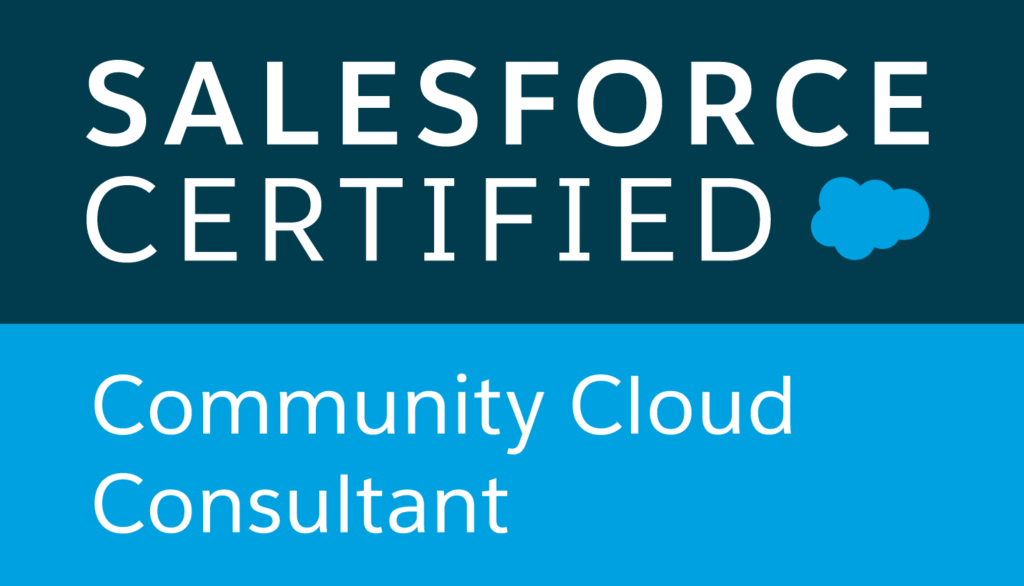 Salesforce certified, Community Cloud Consultant