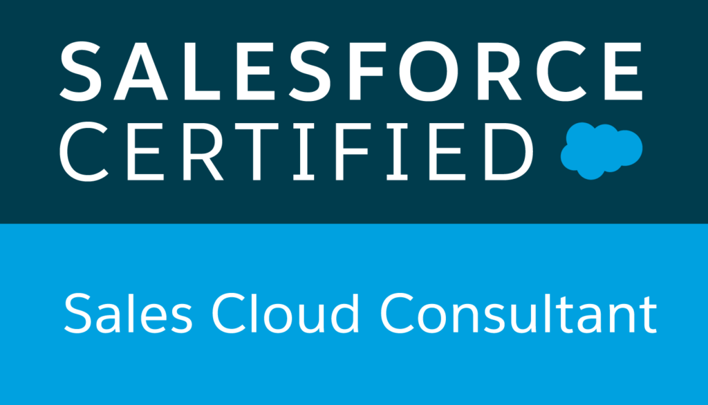 Salesforce certified, Sales Cloud Consultant