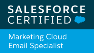 Salesforce certified, Email Specialist
