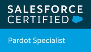 Salesforce certified, Pardot Specialist