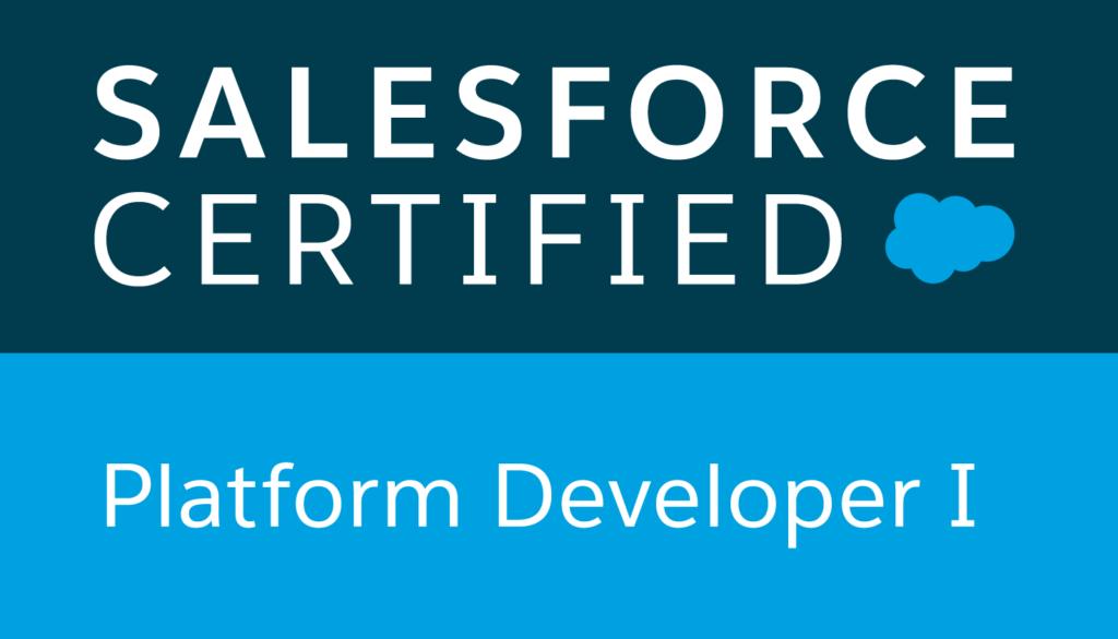 Salesforce certified, plataform developer I