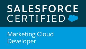 Salesforce Certified, Marketing Cloud Developer