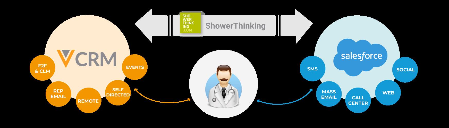 Veeva Salesforce ShowerThinking