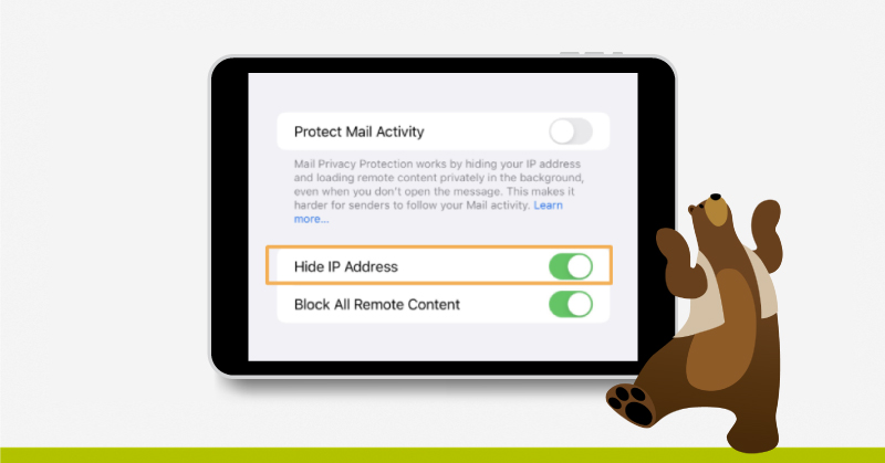 protect mail activity Mail Privacy Protection
